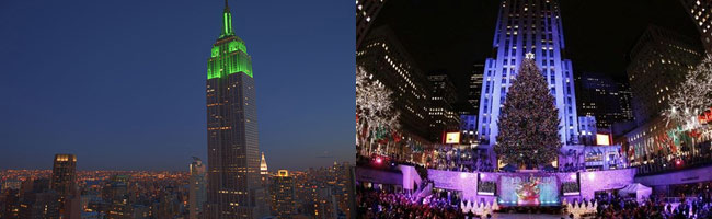 empire and rockfeller - Empire State vs Rockefeller Center