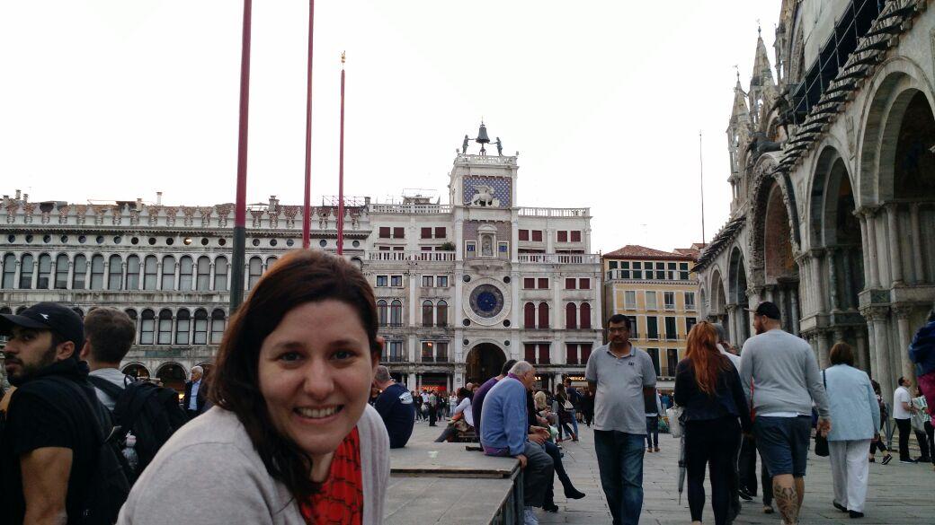 img 1447 - Subiendo al reloj astronómico de Venecia y Panoramica de la Piazza San Marcos