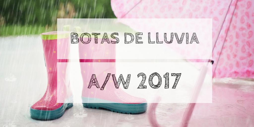 botas a2fw 2017 - Tendencias Botas de Lluvia Temporada Otoño-Invierno 2017