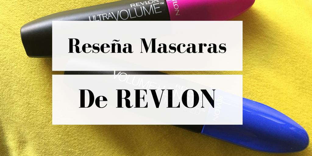resec3b1a mascaras de revlon - Mascaras de pestañas Revlon - Reseña