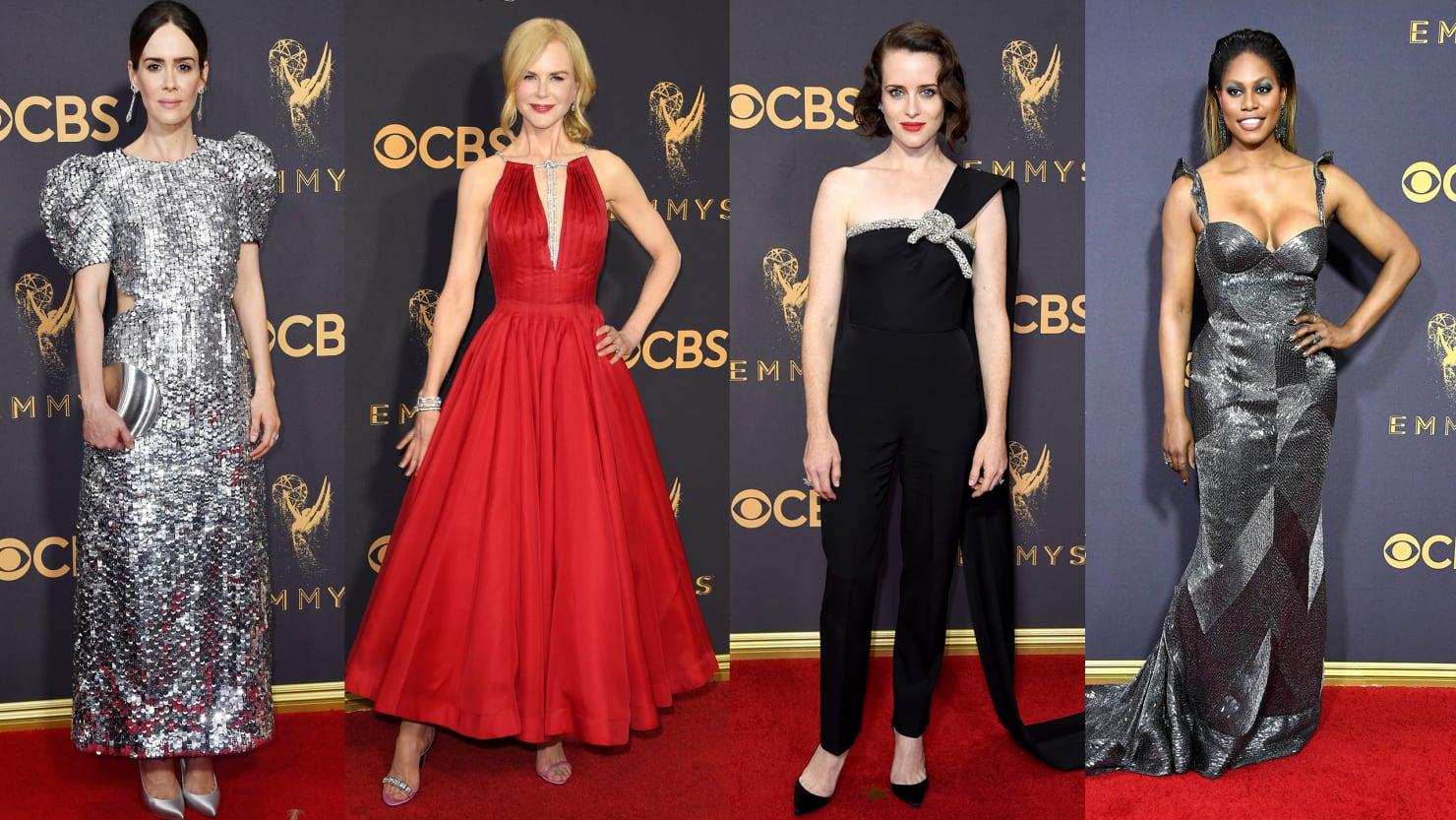 170917 teeman emmys tease rnasxz - Los mejores (y peores) looks de la Alfombra Roja de los Premios Emmy 2017