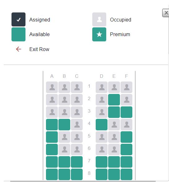 ejemplo tripcase - Como elegir el mejor asiento en el avión