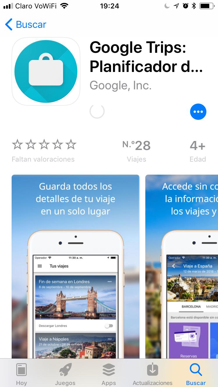 img 8944 - Google Trips una nueva y mejor alternativa a Tripcase