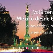 Canje mexico cybermonday 180x180 - #CyberMonday - Promo de canje de Kms LATAMPASS para viajar a Mexico