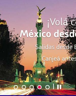 Canje mexico cybermonday 300x380 - #CyberMonday - Promo de canje de Kms LATAMPASS para viajar a Mexico