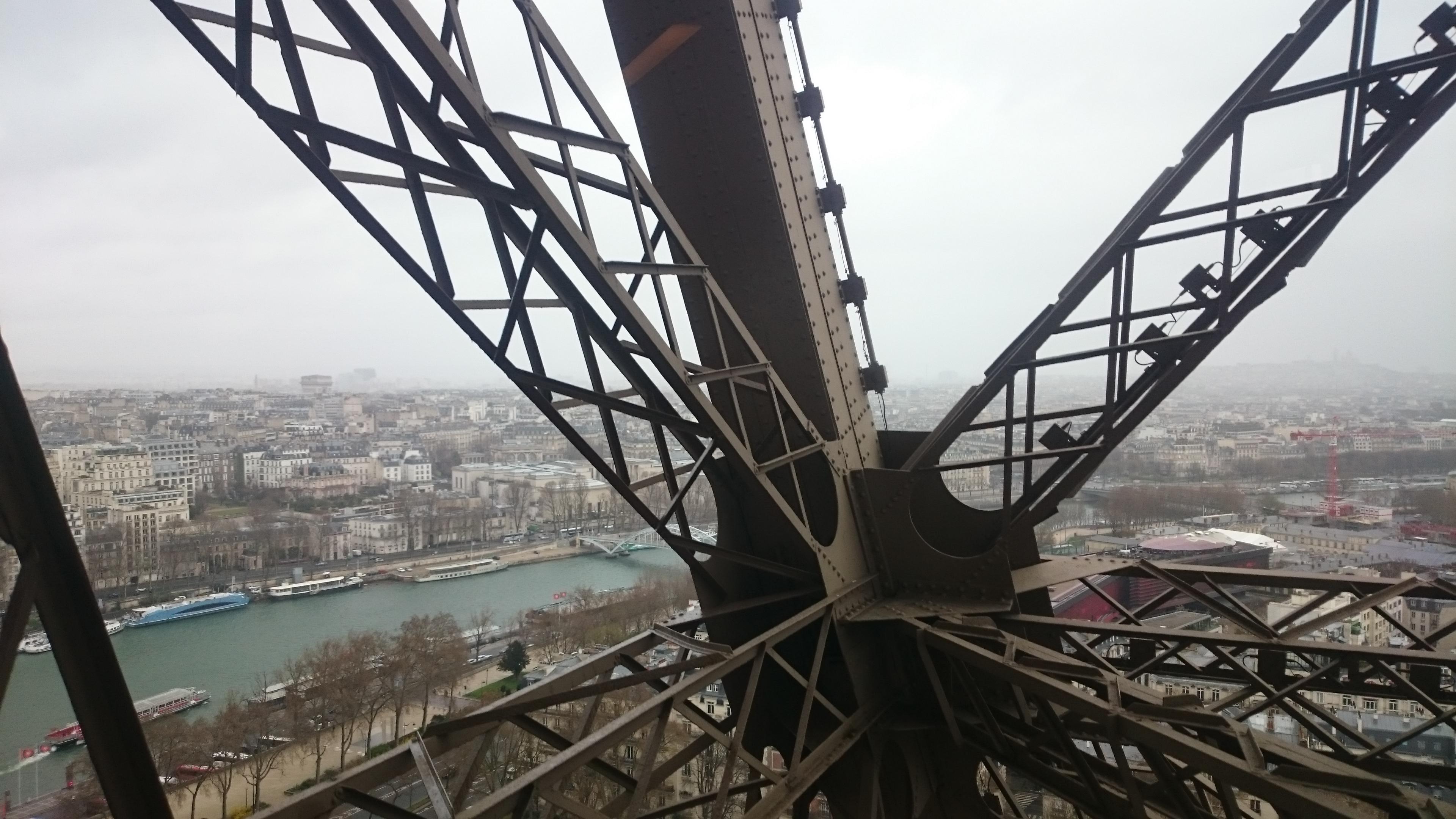 DSC 1904 - Visitando la Torre Eiffel en Paris