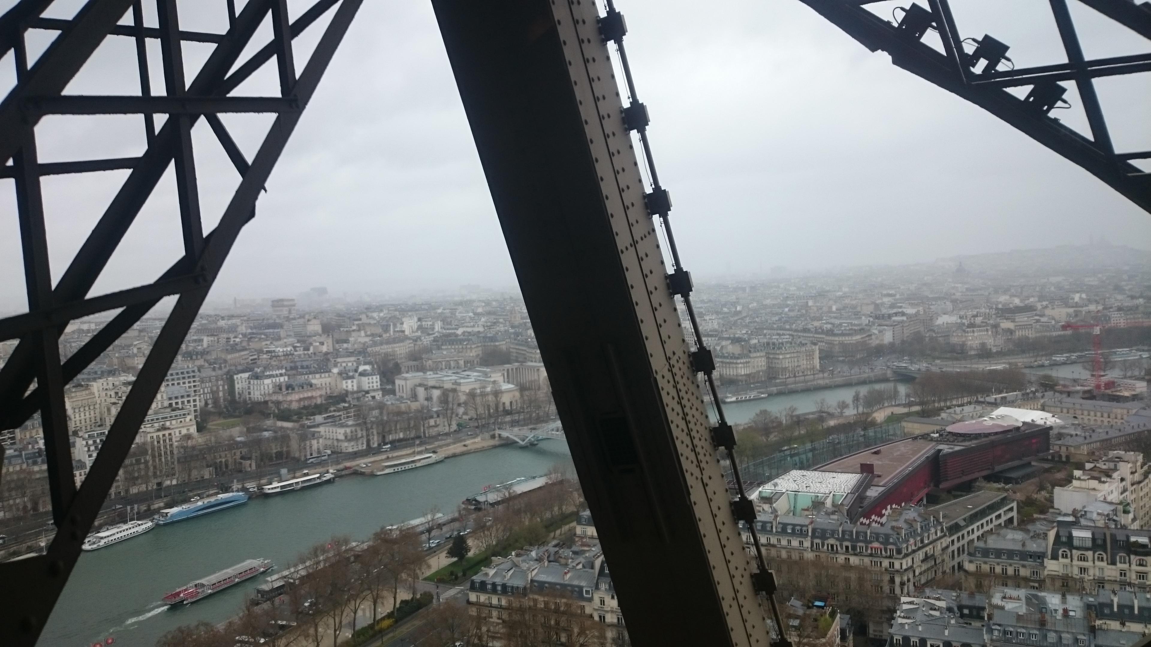 DSC 1905 - Visitando la Torre Eiffel en Paris