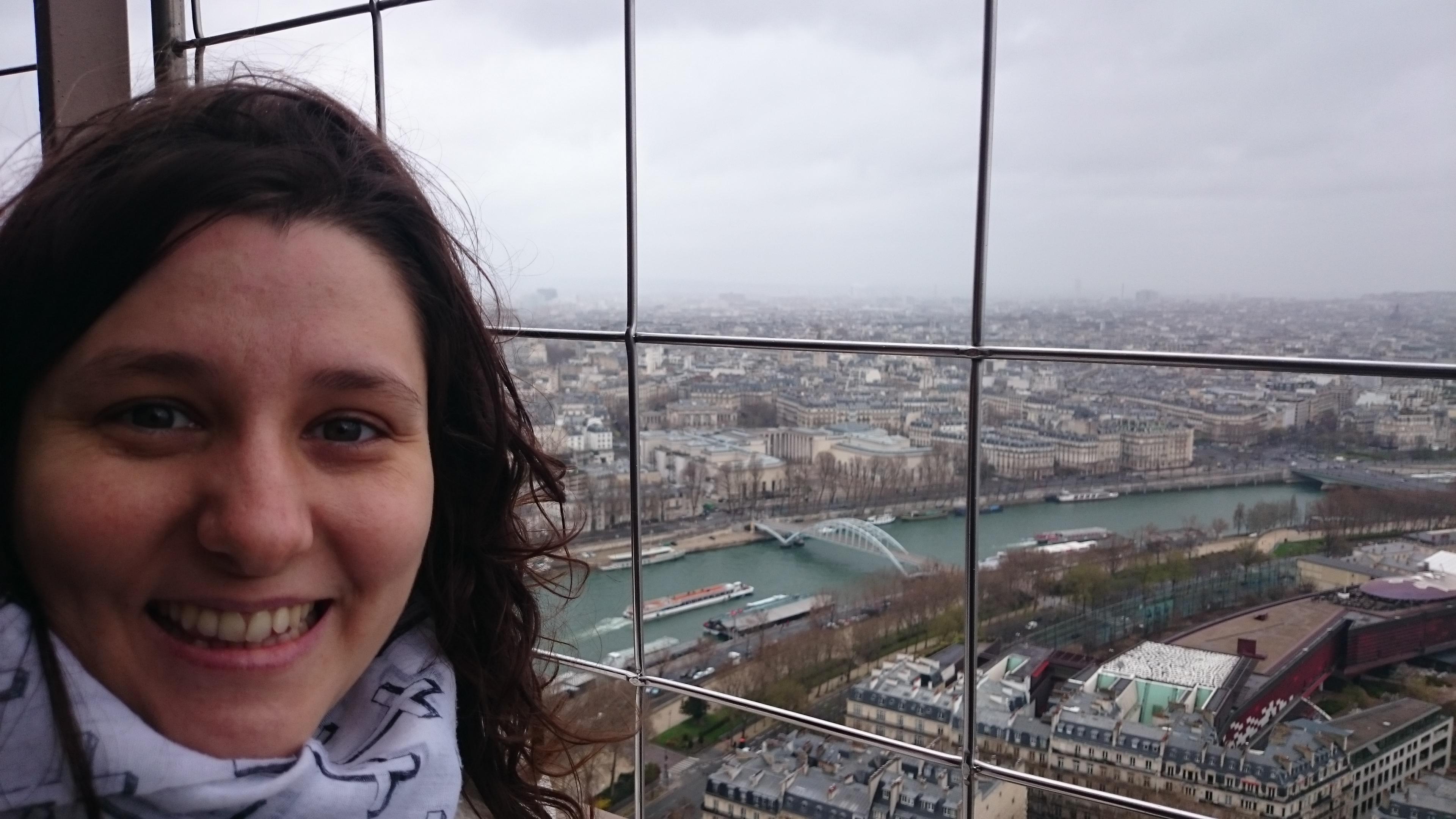 DSC 1919 - Visitando la Torre Eiffel en Paris