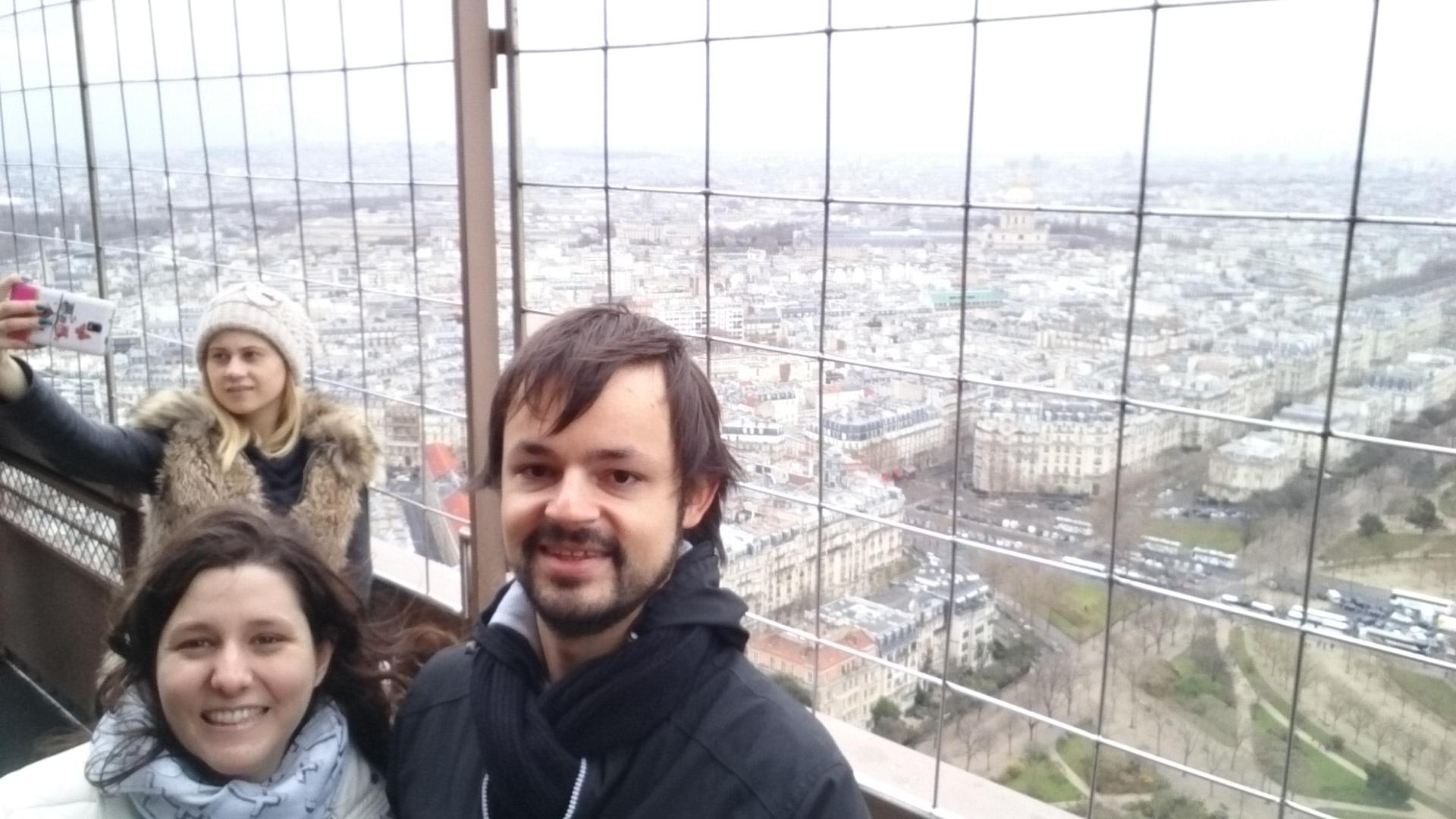 DSC 1939 - Visitando la Torre Eiffel en Paris