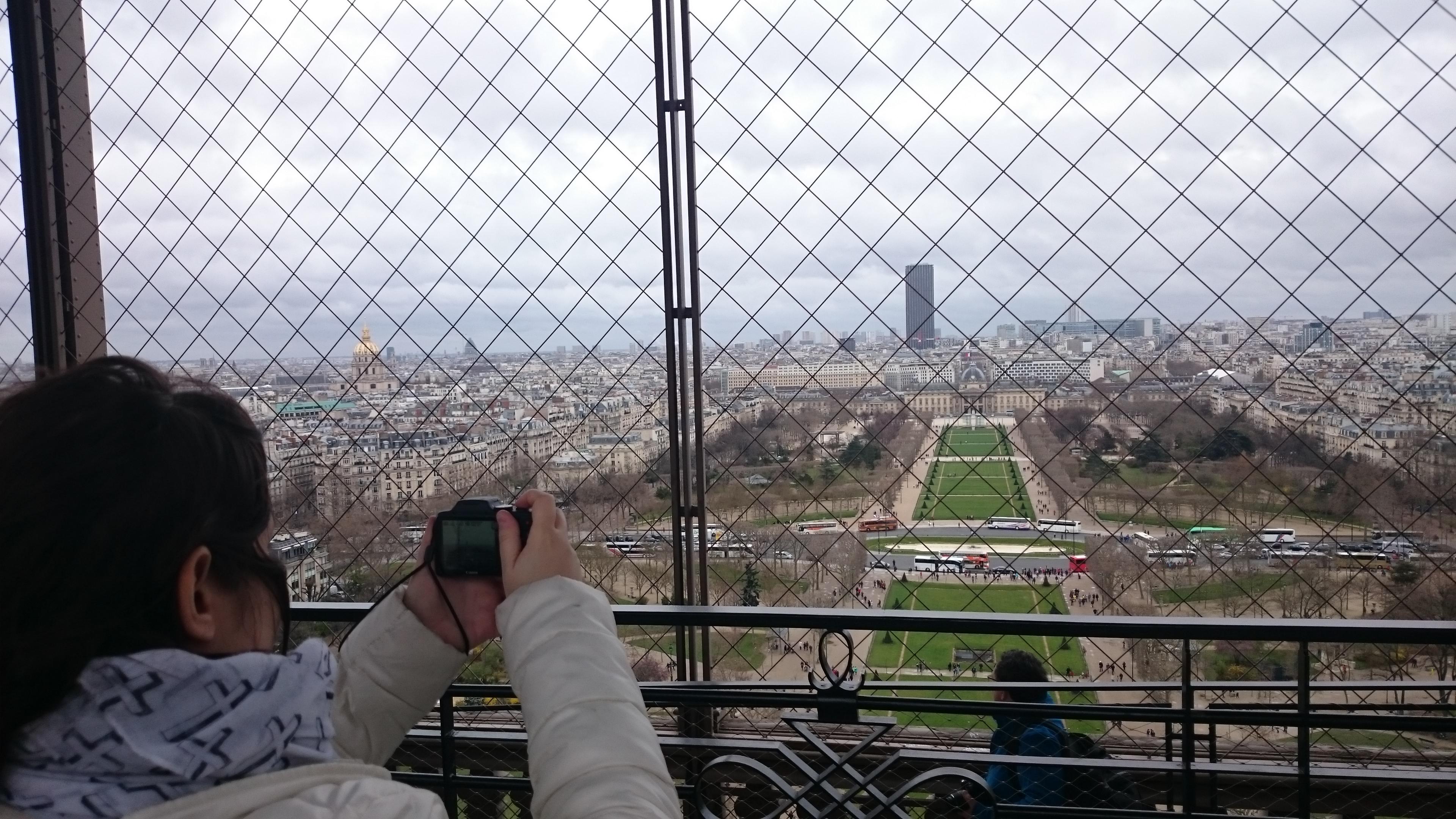 DSC 1967 - Visitando la Torre Eiffel en Paris