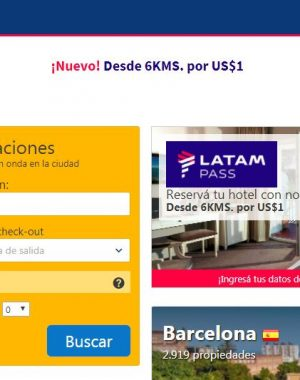 booking 2 300x380 - Cuanto tardan en acreditarse los KMS LATAMPASS por reservas en Booking.com