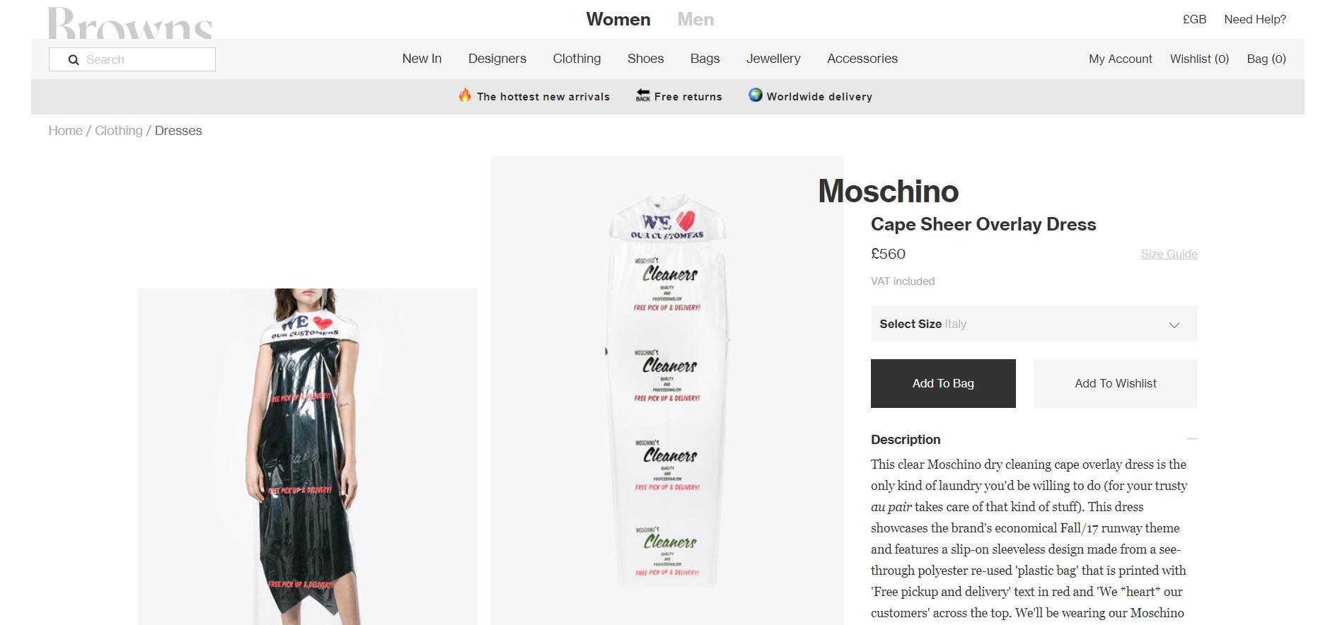 moschino - Moschino levanta polémica en el mundo de la moda