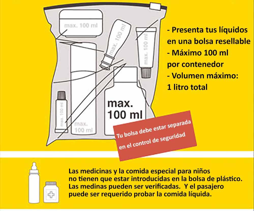 articulos permitidos en el equipaje de mano - Consejos para pasar por el control de seguridad del aeropuerto más rápido