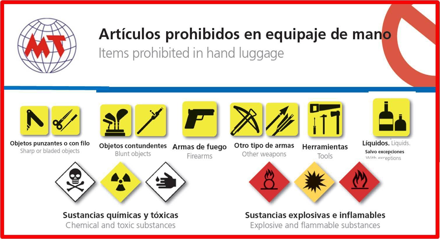 equipaje de mano1 - Consejos para pasar por el control de seguridad del aeropuerto más rápido
