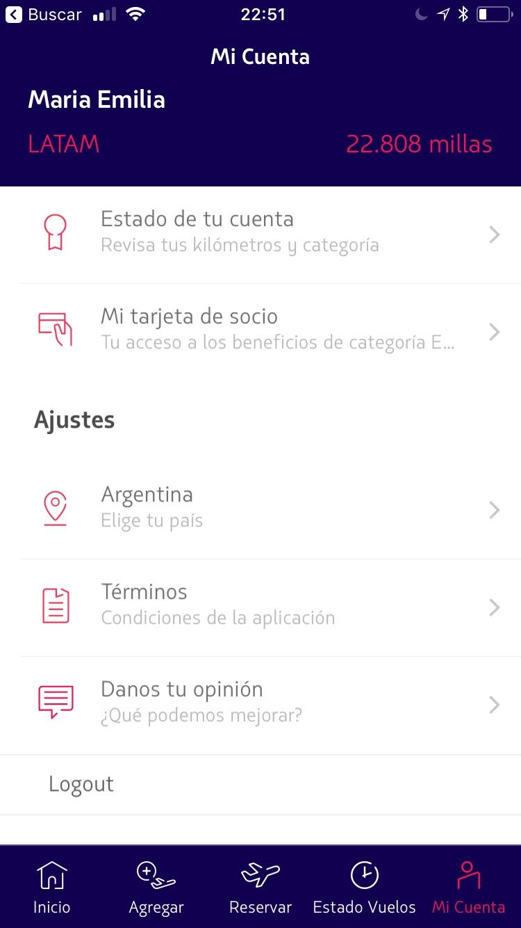 img 3094 4 - Nueva App de LATAM para Android e iOS