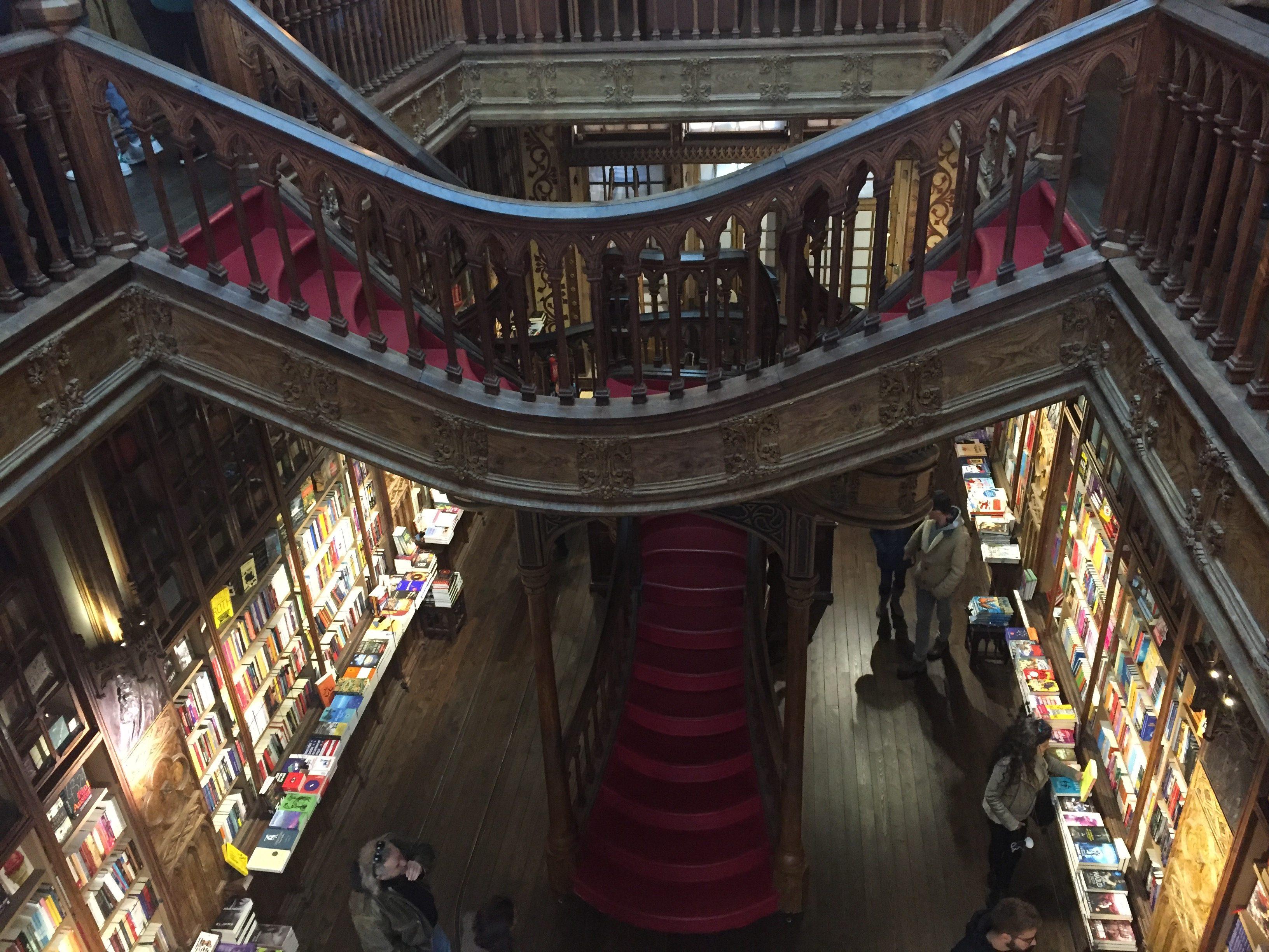 IMG 1640 e1518892959427 - Una visita a la Librería Lello en Porto (Portugal)