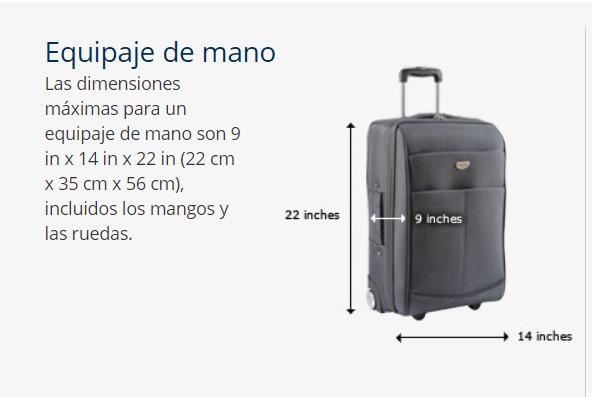 equipaje de mano United - La cuestión del equipaje de mano en las low cost vs las aerolineas tradicionales