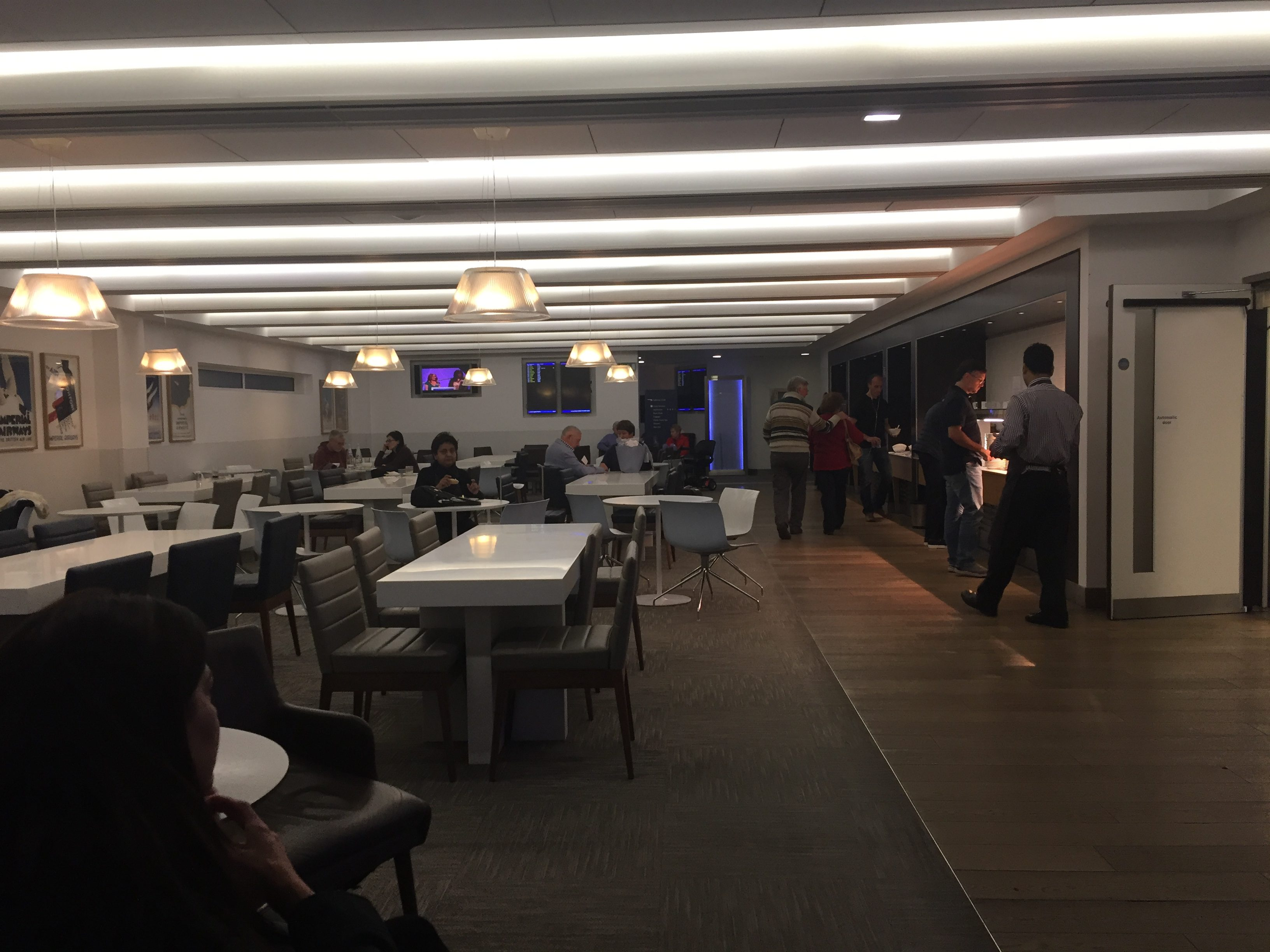 El sal n vip de british airways en el aeropuerto de - Salon de the londres ...