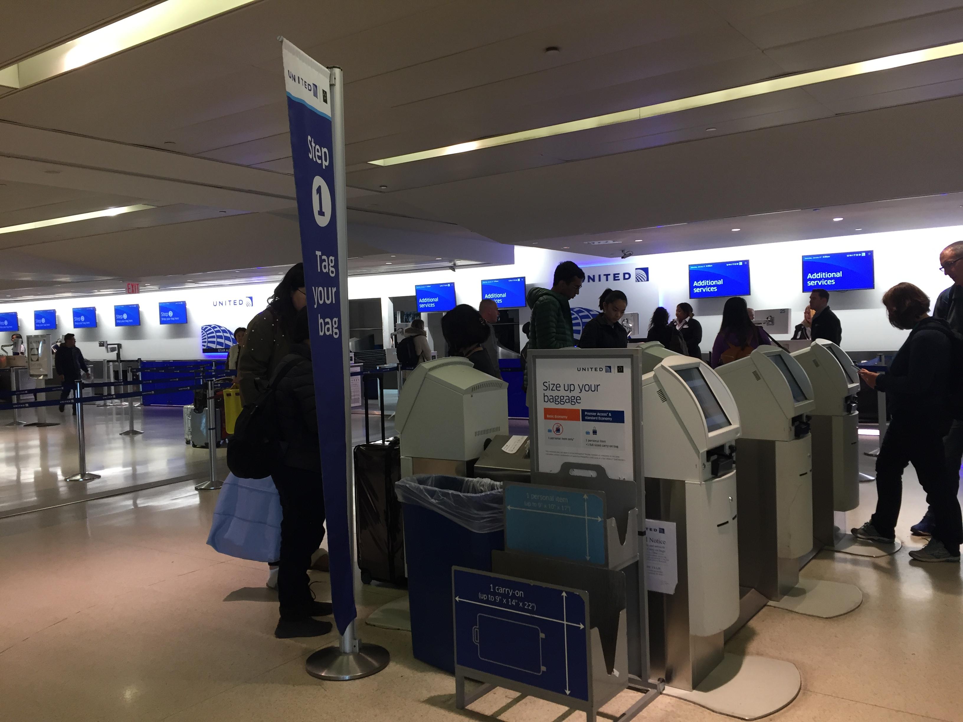 IMG 3565 - Haciendo el check in automático de United en Newark