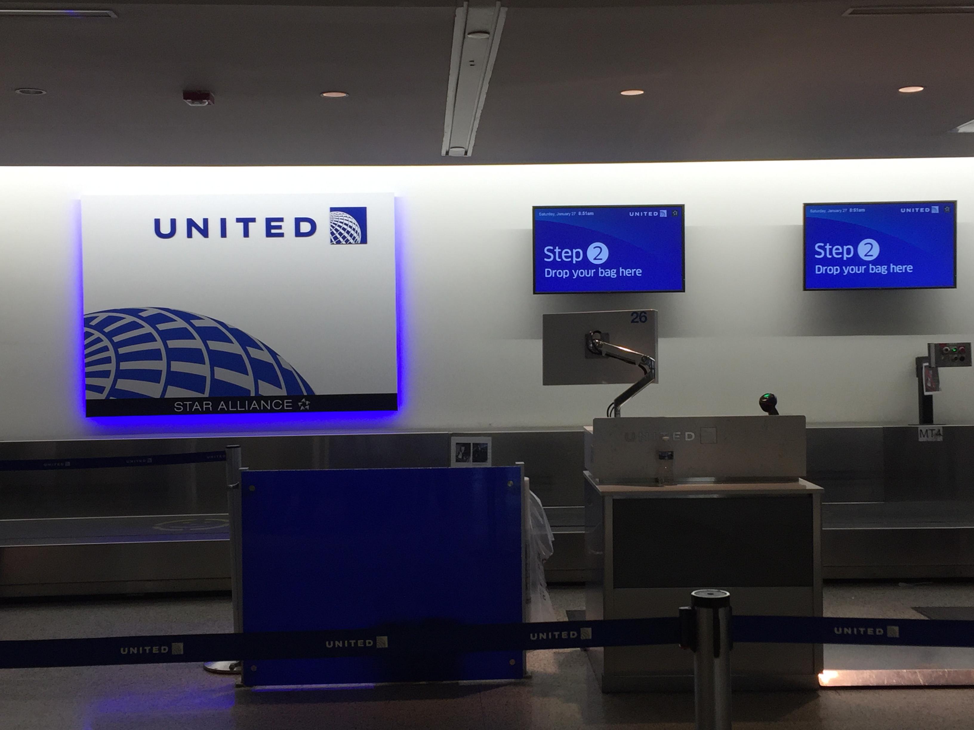 IMG 3567 - Haciendo el check in automático de United en Newark