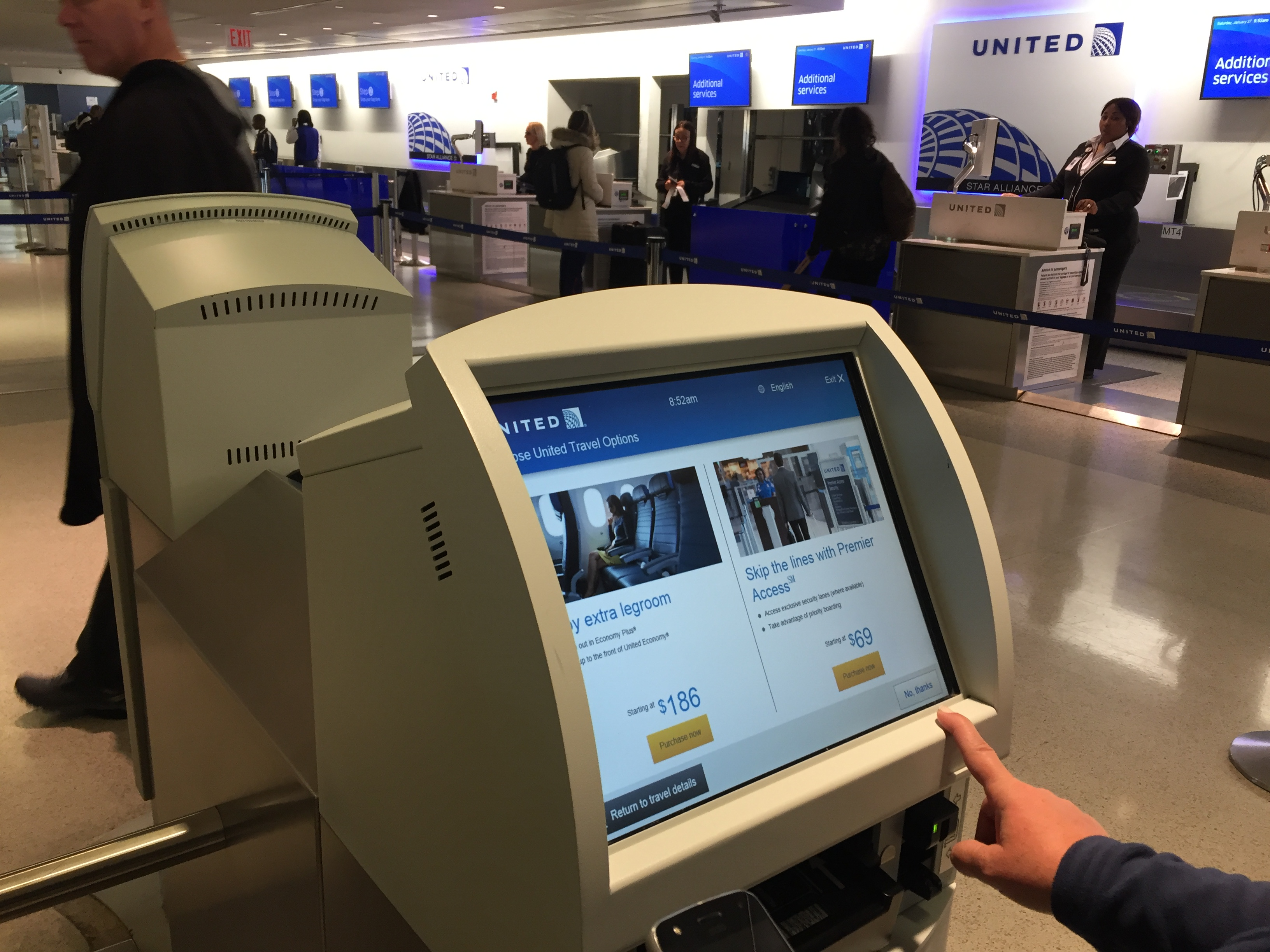 IMG 3572 - Haciendo el check in automático de United en Newark