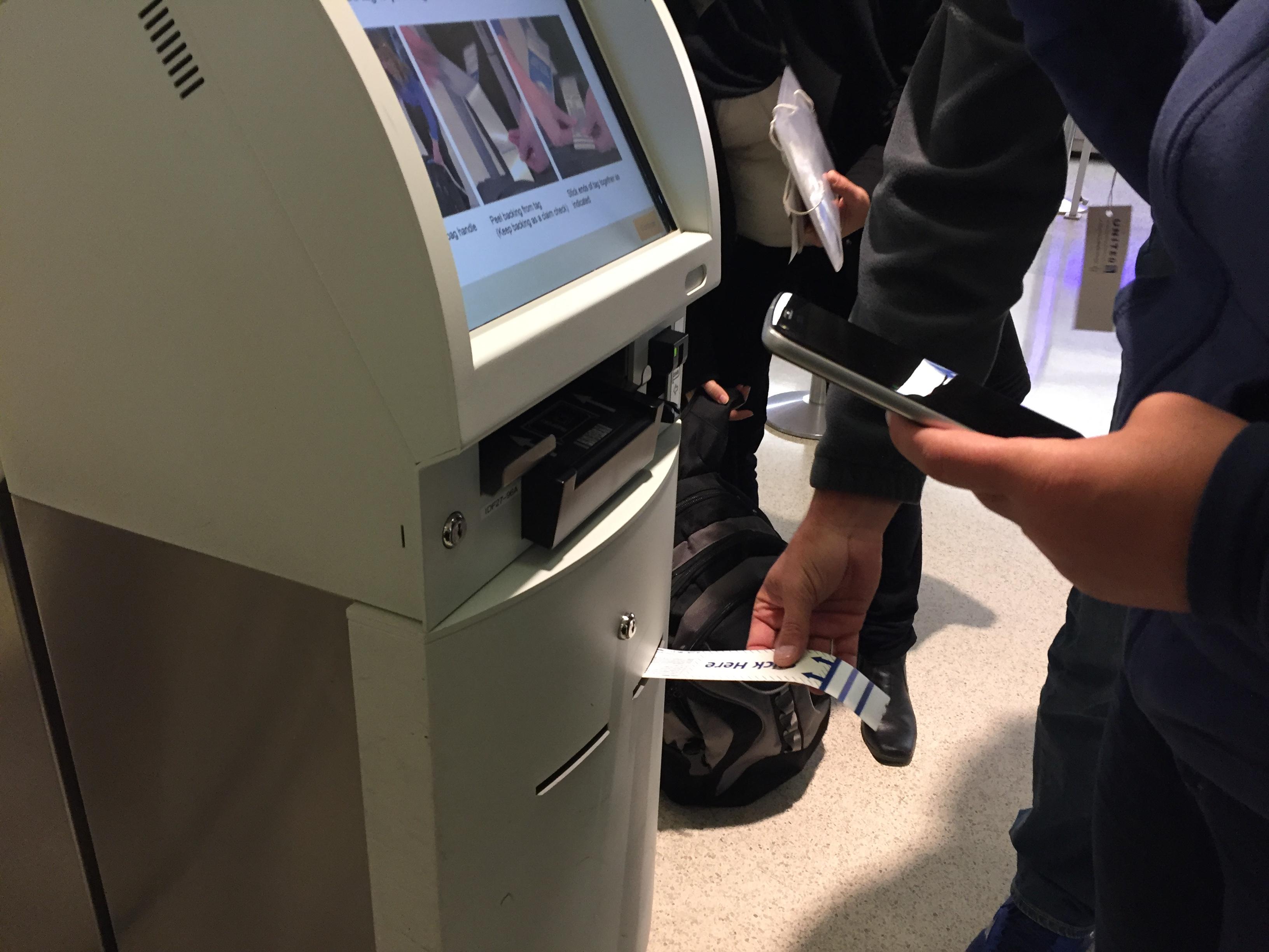 IMG 3575 - Haciendo el check in automático de United en Newark