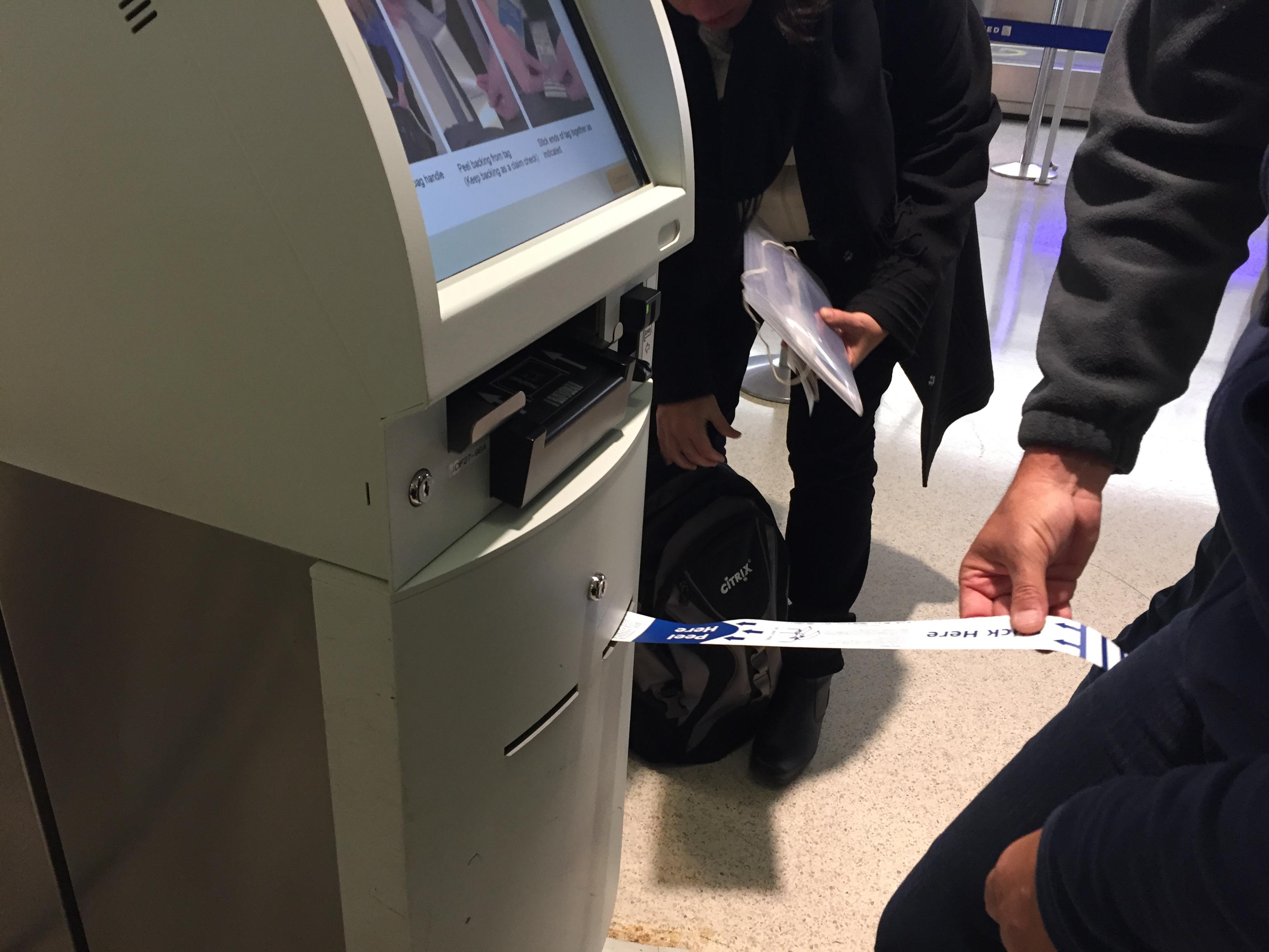 IMG 3576 - Haciendo el check in automático de United en Newark