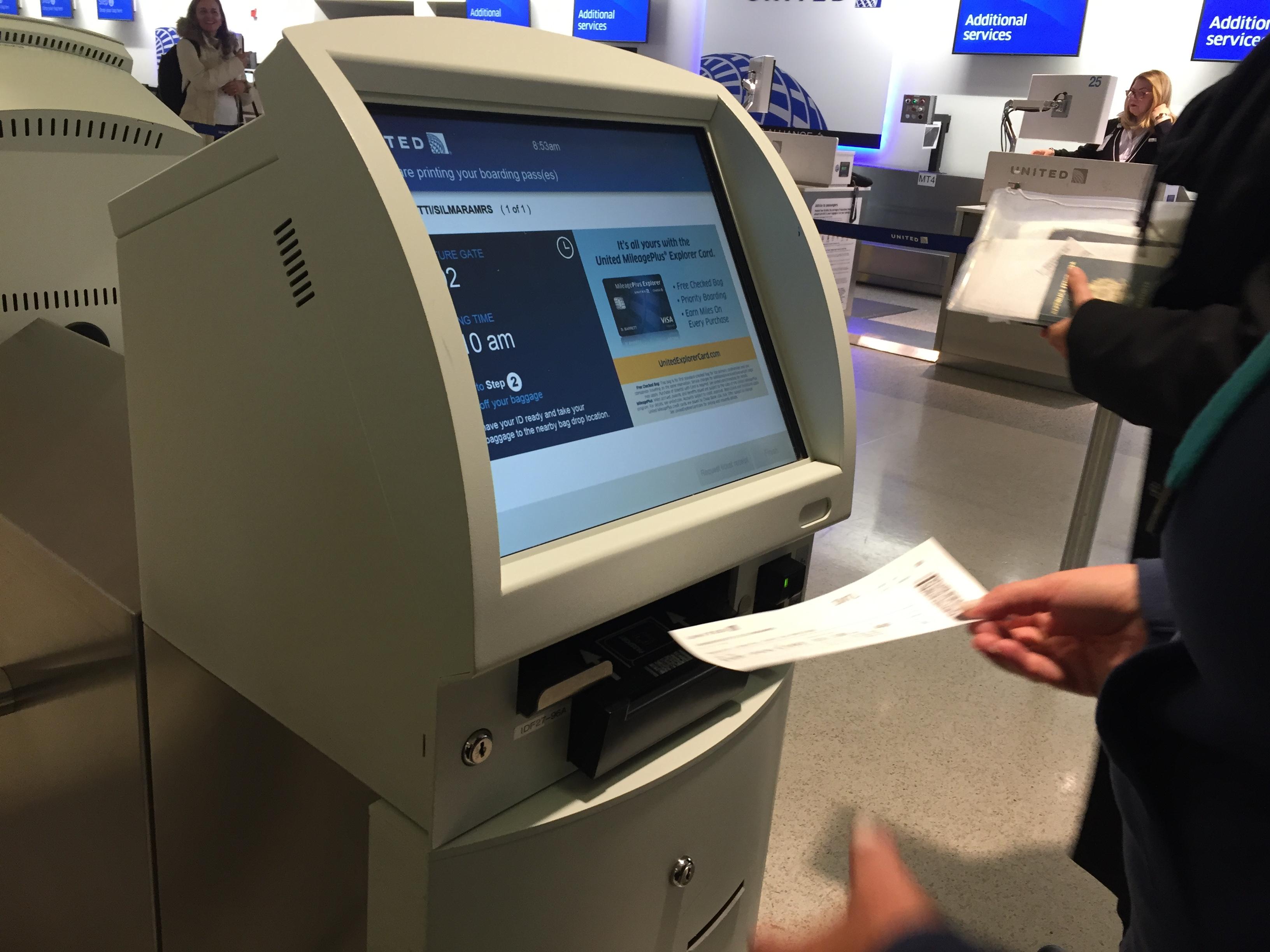 IMG 3577 - Haciendo el check in automático de United en Newark