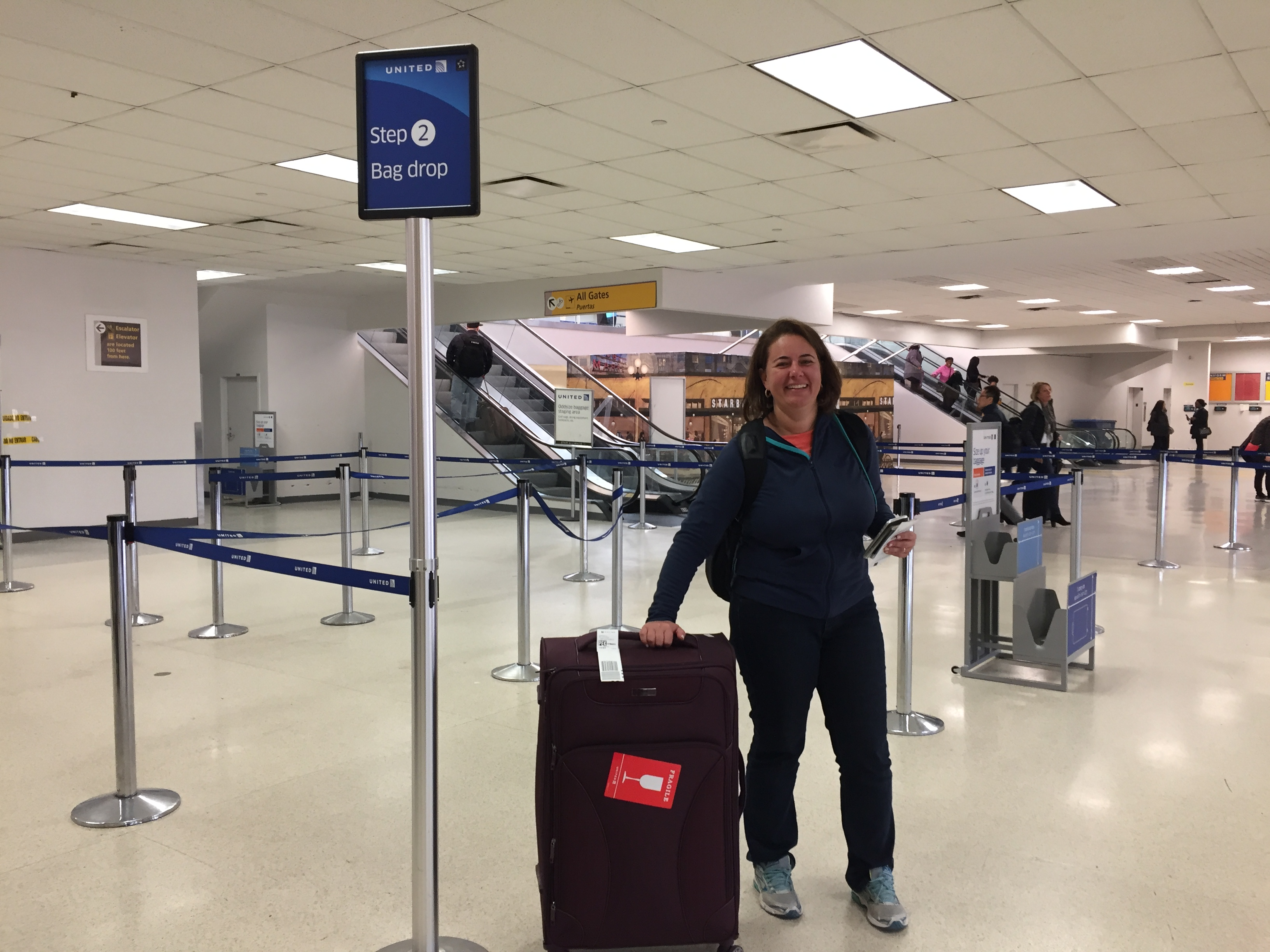 IMG 3582 - Haciendo el check in automático de United en Newark