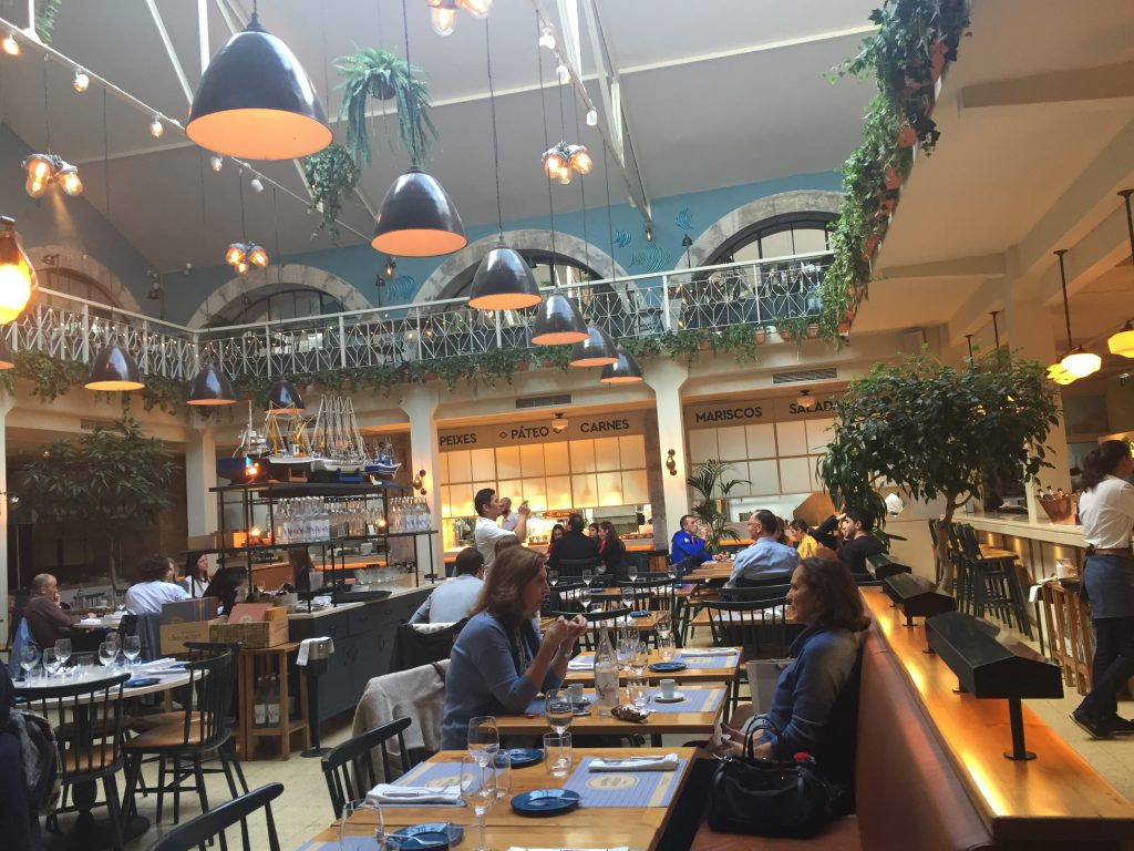 IMG 2320 e1524436159488 1024x768 - Almorzando en un Restaurante de Estrellas Michelin en Lisboa