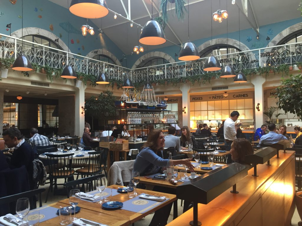 IMG 2321 e1524436179925 1024x768 - Almorzando en un Restaurante de Estrellas Michelin en Lisboa