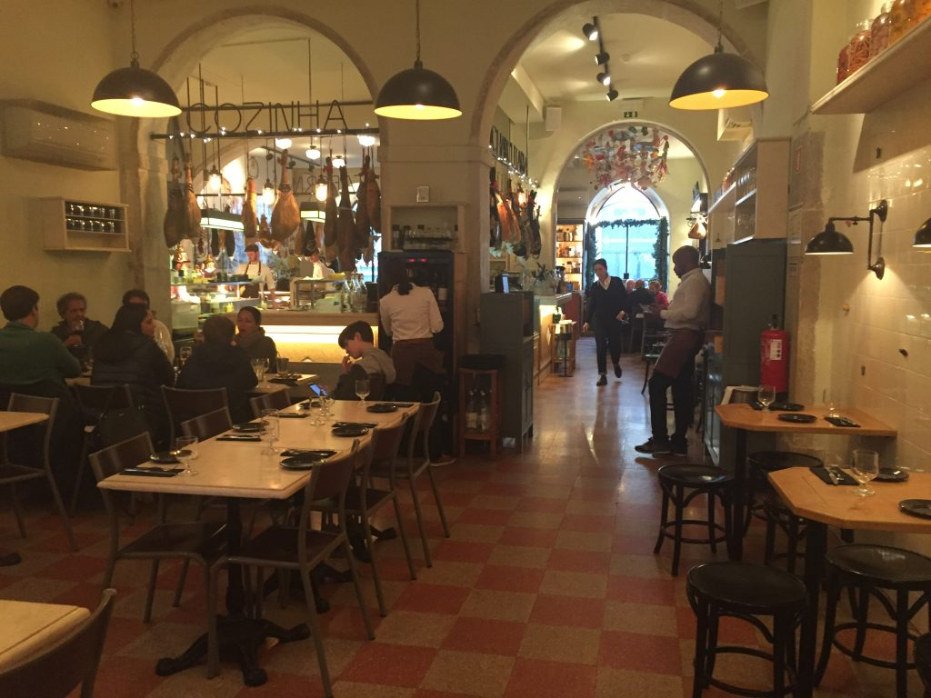 IMG 2325 e1524436295475 1024x768 - Almorzando en un Restaurante de Estrellas Michelin en Lisboa