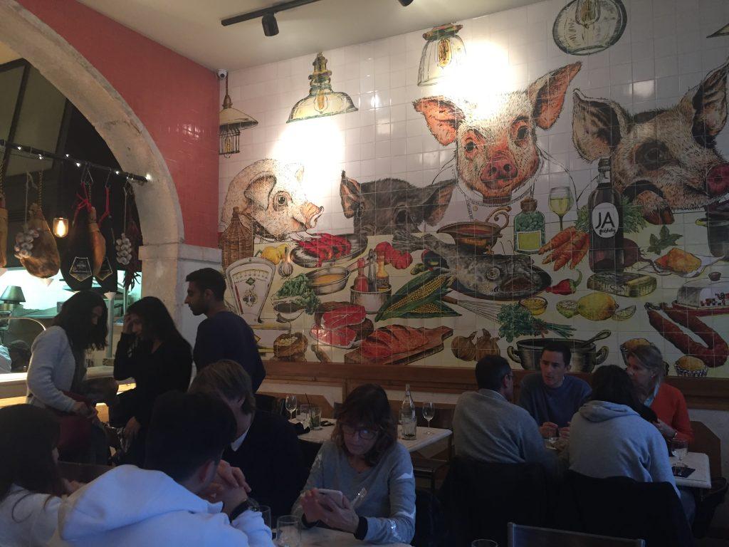 IMG 2327 e1524435913214 1024x768 - Almorzando en un Restaurante de Estrellas Michelin en Lisboa