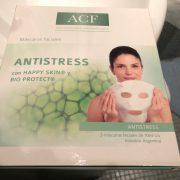 Mascara facial antiestres