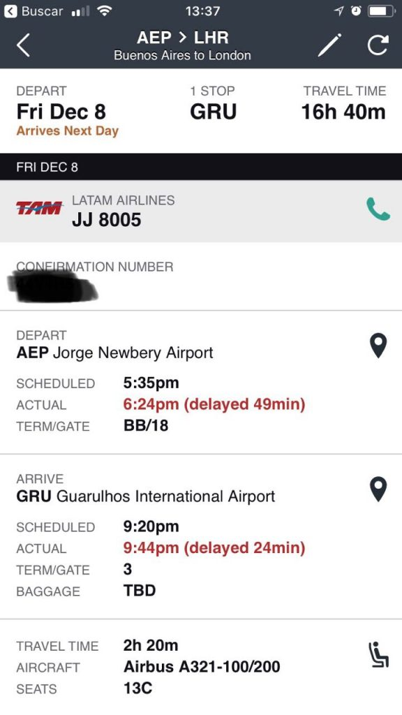 WhatsApp Image 2018 06 25 at 20.26.17 576x1024 - Volando de Buenos Aires a Londres via San Pablo en LATAM en Business Class I/II