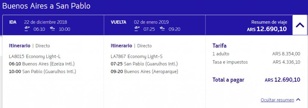 Vuelos tarifa light 1024x361 - LATAM pasa a cobrar el equipaje despachado en todas las rutas de America del Sur