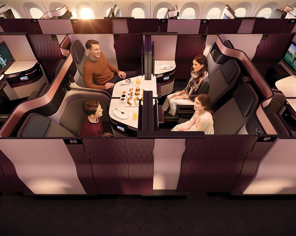 33189560961 d4be334397 o 1024x817 - Qatar lanza una nueva cabina con cama matrimonial en sus vuelos desde Buenos Aires