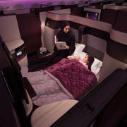 33189563041 44645d1262 b 180x180 - Qatar lanza una nueva cabina con cama matrimonial en sus vuelos desde Buenos Aires