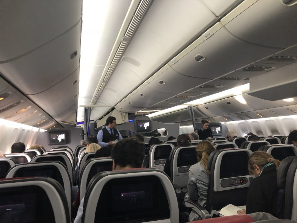 IMG 3821 e1541370798972 1024x768 - Crónica de vuelo New York (JFK) - Buenos Aires (EZE) por American Airlines