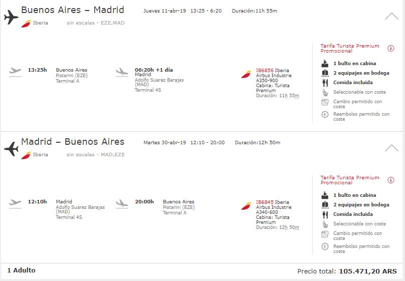 Iberia Madrid premium - Volar en Premium Economy: ¿Qué es? ¿Vale la pena?