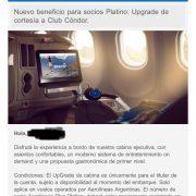 WhatsApp Image 2019 01 08 at 13.57.43 180x180 - Upgrade de cortesía en todos los vuelos de Aerolineas Argentinas para todos los socios Platino.