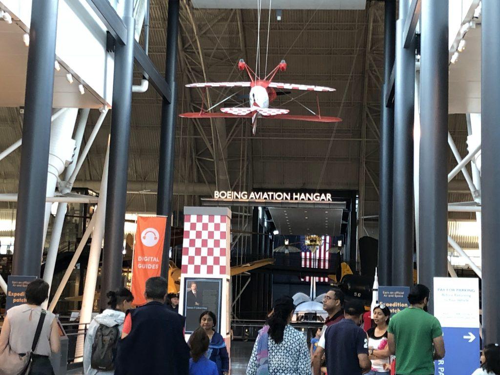 IMG 3506 1024x768 - El Museo del Aire y del Espacio en el aeropuerto Dulles de Washington DC