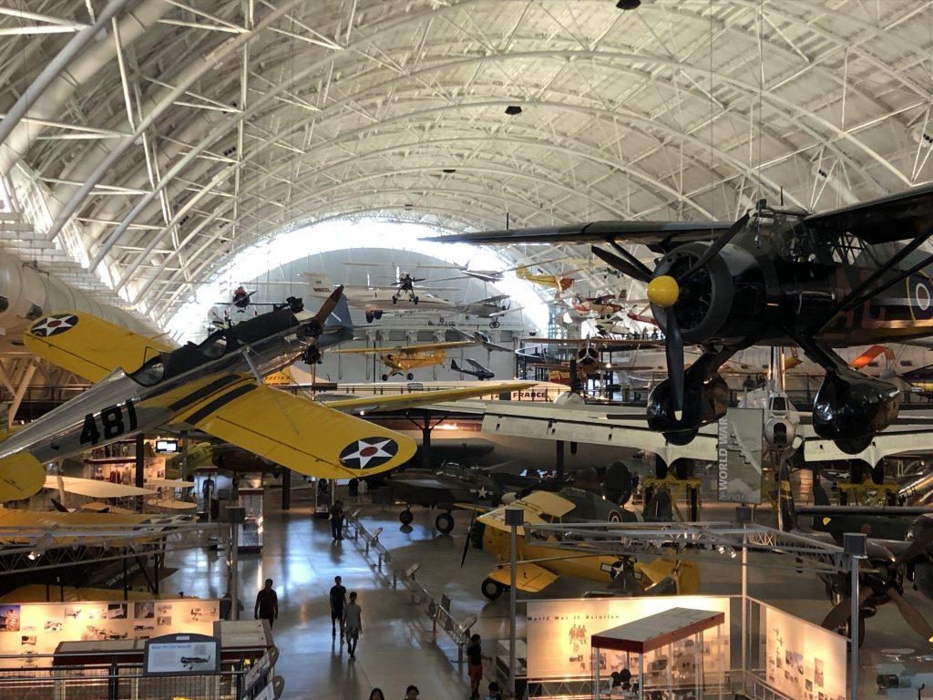 IMG 3518 1024x768 - El Museo del Aire y del Espacio en el aeropuerto Dulles de Washington DC