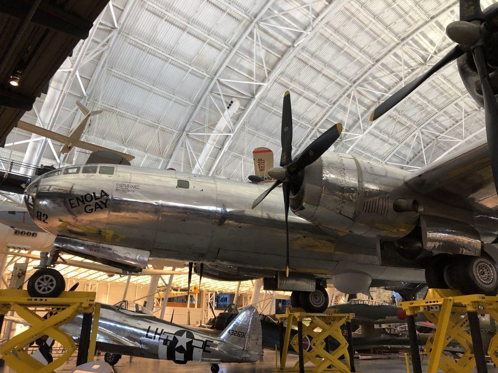 IMG 3567 1024x768 - El Museo del Aire y del Espacio en el aeropuerto Dulles de Washington DC