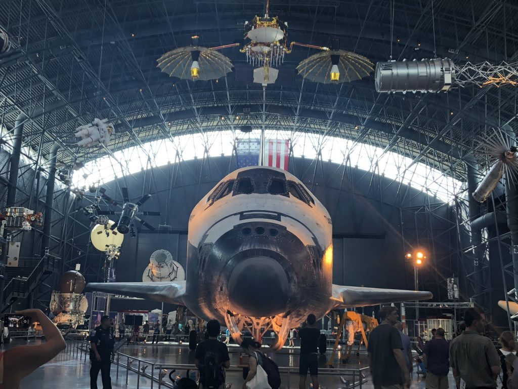 IMG 3615 1024x768 - El Museo del Aire y del Espacio en el aeropuerto Dulles de Washington DC