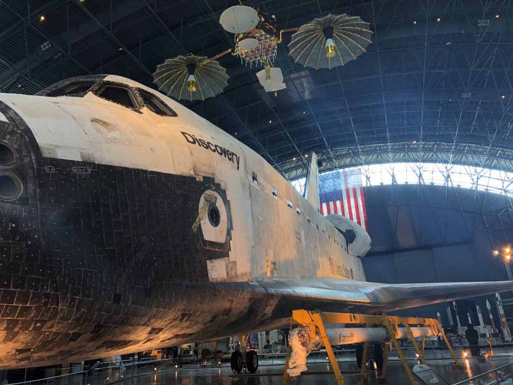 IMG 3620 1024x768 - El Museo del Aire y del Espacio en el aeropuerto Dulles de Washington DC