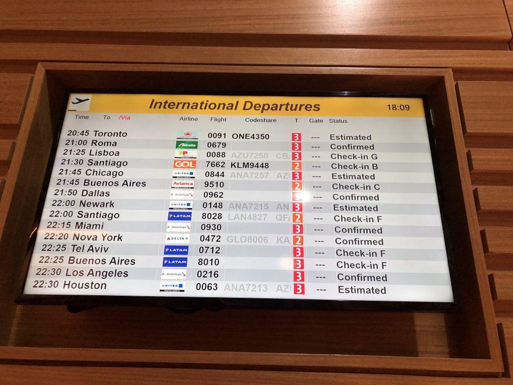 IMG 6697 1024x768 - El Salón VIP de American Airlines en el aeropuerto de Guarulhos