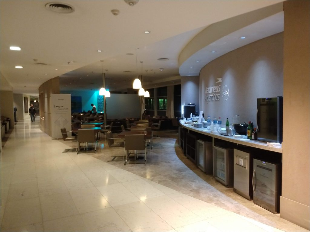 IMG 20190126 213154345 1024x768 - Reseña Salon VIP Aerolineas Argentinas en Ezeiza - Club Condor