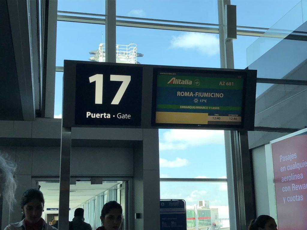 IMG 7004 e1570359913211 1024x768 - Crónica de vuelo Buenos Aires - Roma con Alitalia (AZ680)