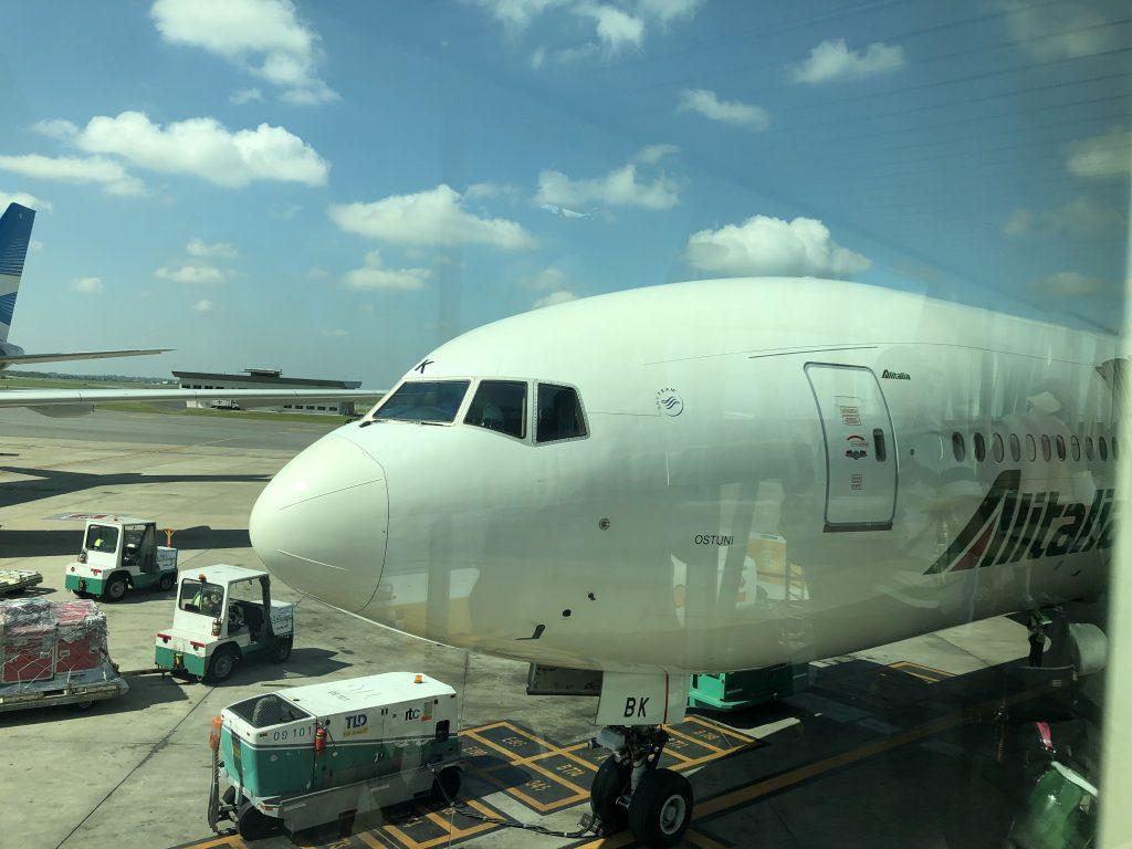 IMG 7005 1024x768 - Crónica de vuelo Buenos Aires - Roma con Alitalia (AZ680)